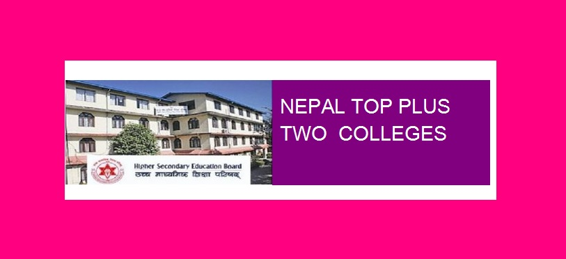 top plus two colleges nepal