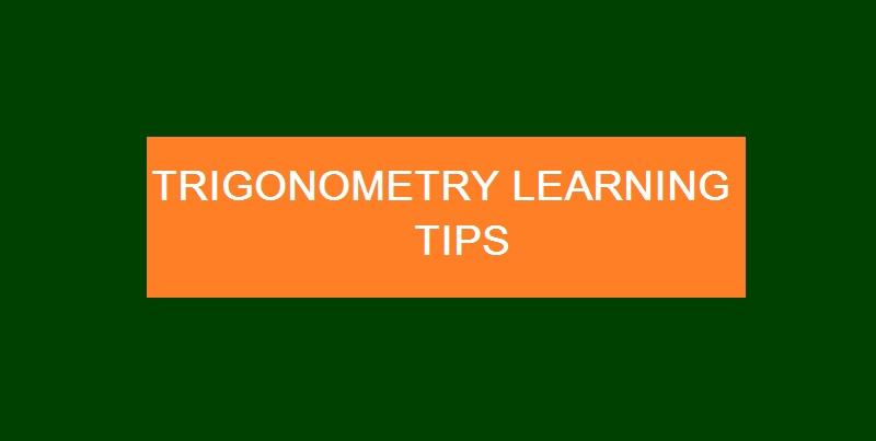 easy trigonometry