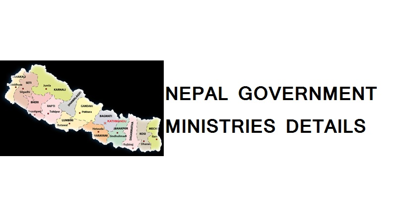 nepal government ministries