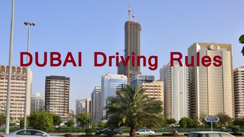 dubai driving rules