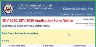 EDV 2020 Application Form Notice