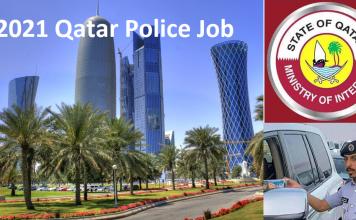 2021 Qatar Police Job