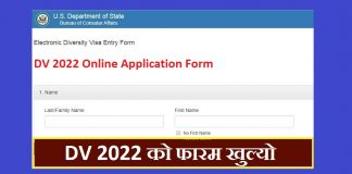 DV 2022 Online Application Form