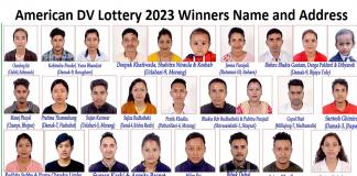 American DV Lottery 2023 Winners