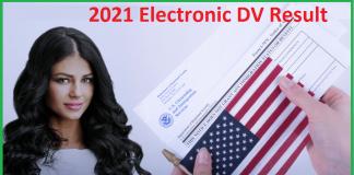2021 Electronic DV Result