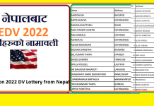 4050 Won 2022 DV Lottery