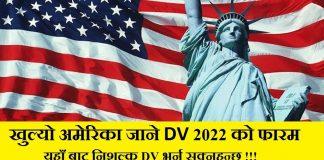 Diversity Visa Program for 2022