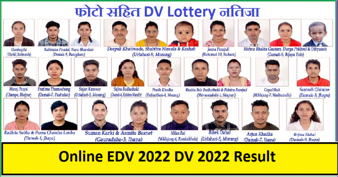 Online EDV 2022 DV 2022 Result