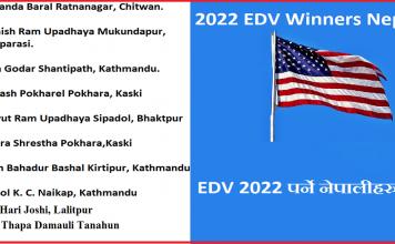 2022 EDV Winners Nepali