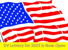 DV Lottery for 2023 is Now Open