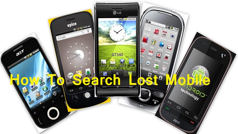 lost android mobile phone