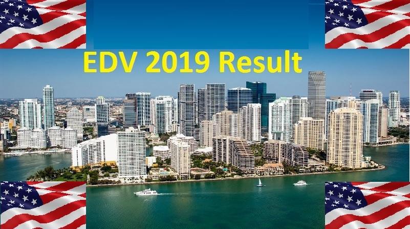 EDV 2019 DV Lottery 2019 Result