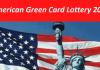 American Green Card Lottery 2023