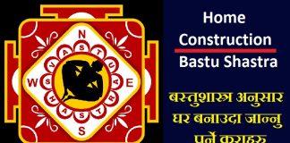 Home Construction Bastu Shastra