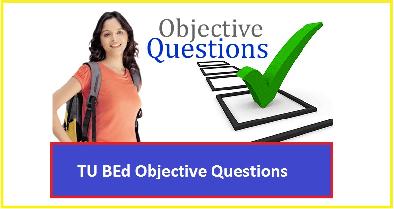 tu bed objective questions