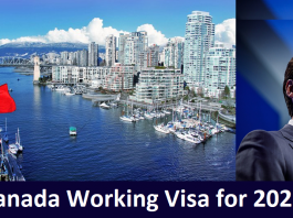 Canada Working Visa for 2022