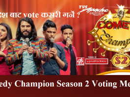 Comedy Champion Season 2 Voting Method