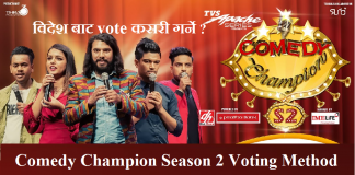 Comedy Champion Season 2 Voting Method