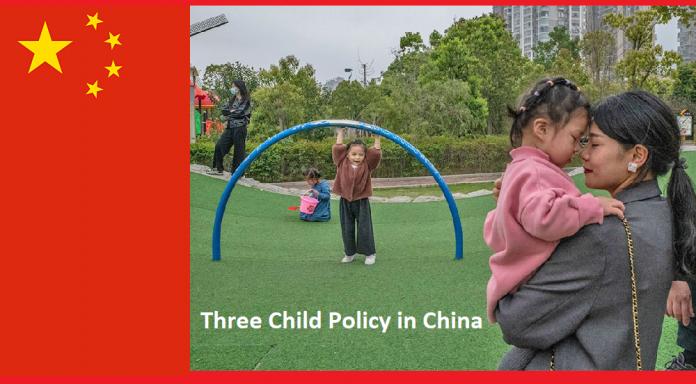 Three Child Policy in China