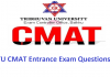 TU CMAT Entrance Exam Questions