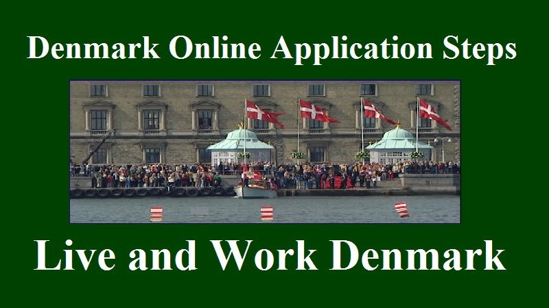 Denmark Online Application Steps