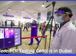 Free PCR Testing Centers in Dubai
