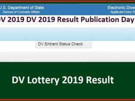 EDV 2019 DV 2019 Result Publication Day