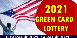 EDV Result 2021 DV Result 2021