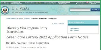 Green Card Lottery 2021