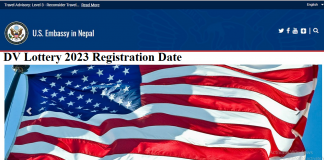DV Lottery 2023 Registration Date