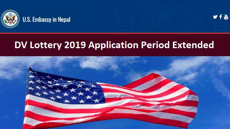 DV Lottery 2019 Application Period