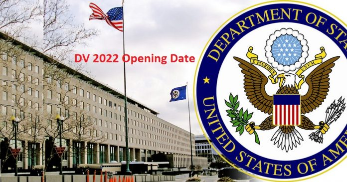 DV 2022 Opening Date