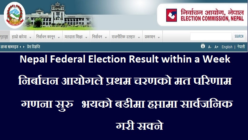 Nepal Federal Election Result