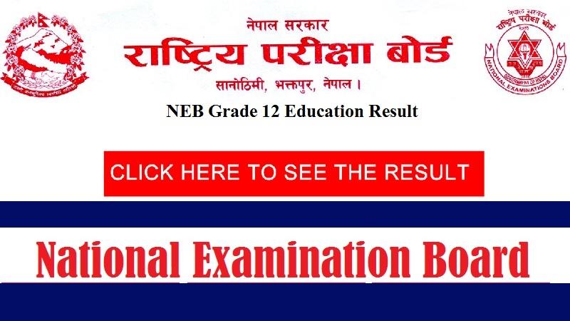 NEB Grade 12 Education Result 2074