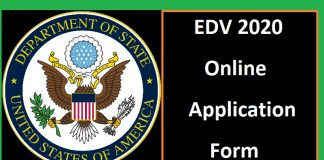 EDV 2020 Online Application Form