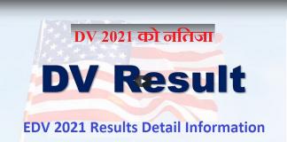 EDV 2021 Results Detail Information