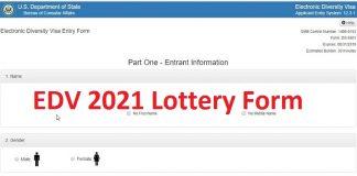 EDV 2021 Lottery Form