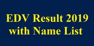EDV Result