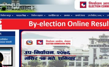 By-election Online Result