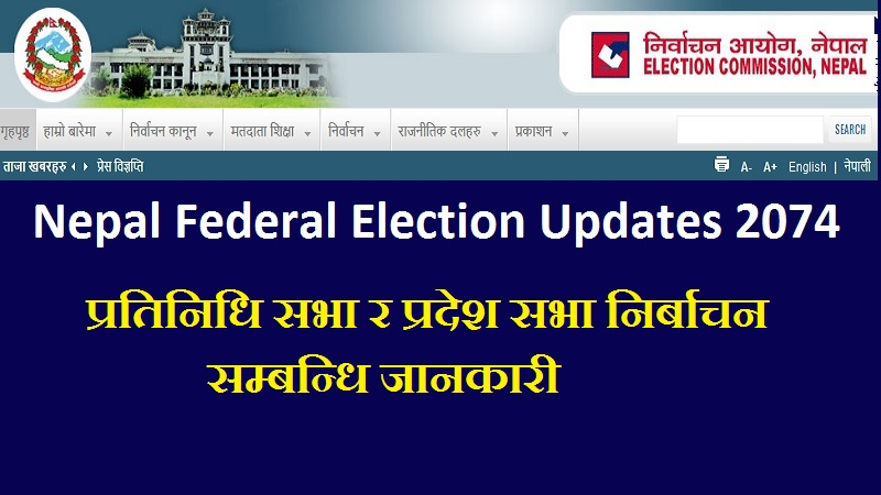 Nepal Federal Election Updates 2074
