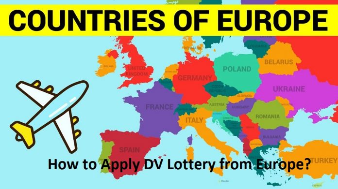 How to Apply DV Lottery from Europe