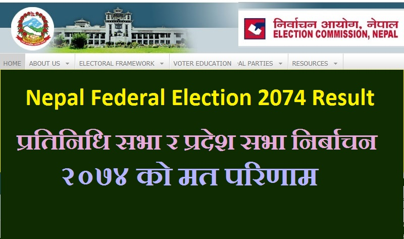 Nepal Federal Election 2074 Result