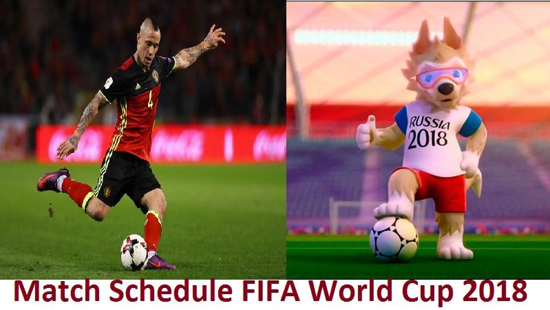 Match Schedule FIFA World Cup 2018