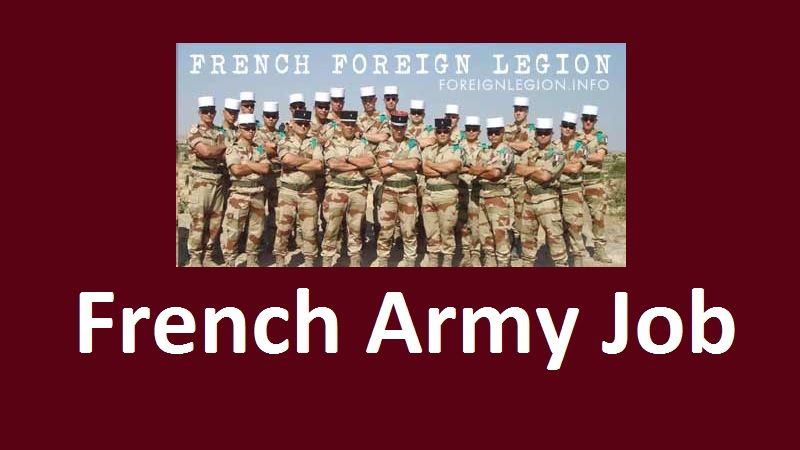 French Army Job