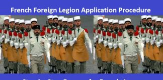 French Foreign Legion Application