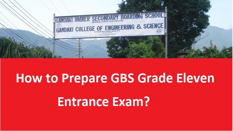 GBS grade eleven entrance exam