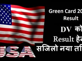 Green Card 2020 Result