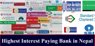 Highest Interest Paying Bank in Nepal