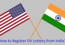 How to Register DV Lottery from India