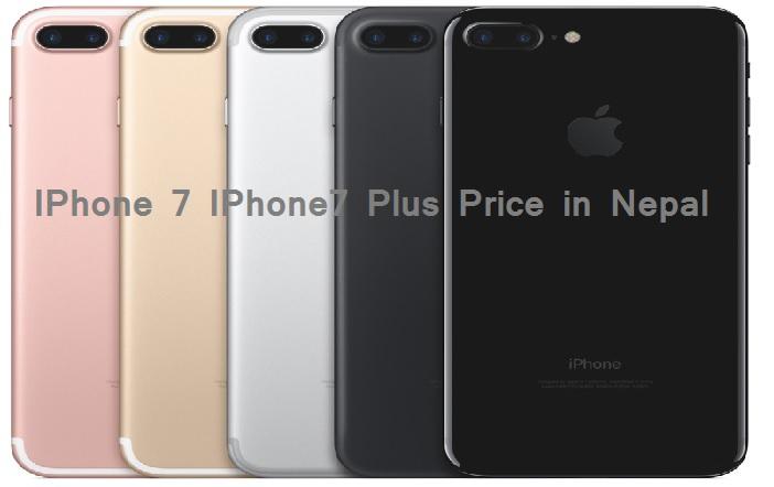 IPhone 7 IPhone 7 plus price Nepal